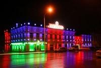 Наружное освещение: архитектурное освещение зданий, фасадов дома в Орле